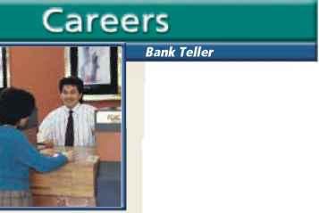Bank Teller With Transaction